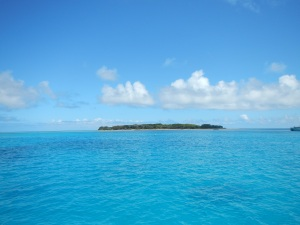 Approaching Lady Musgrave Island