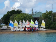 JNR sailing New Caledonia Style