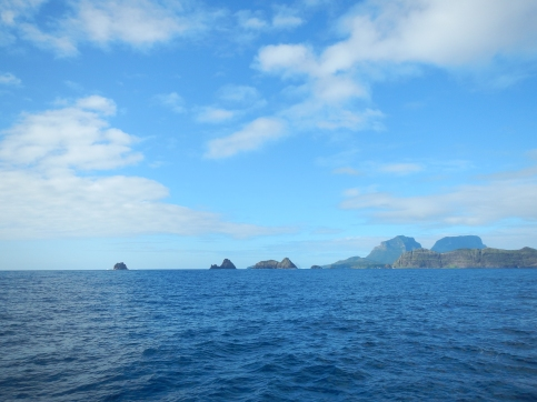 Farewell to beautiful Lord Howe Island