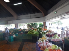 I have dreamed of this market since we left, our access to fresh food is pretty limited now that we have left Noumea.