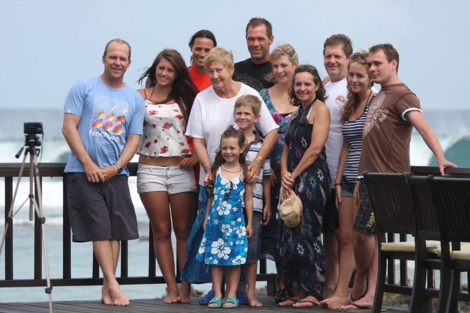 Family surf holiday, Maldives