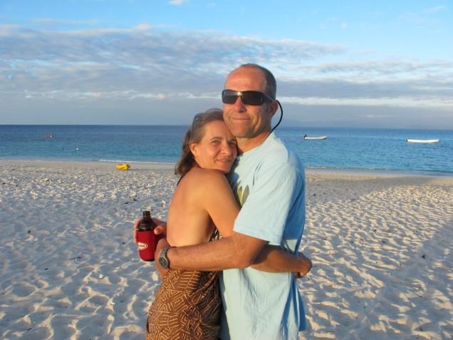 Beach lovers in Australia