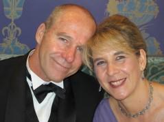 Tim and sister Jacqui