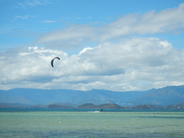 Noumea in the Background