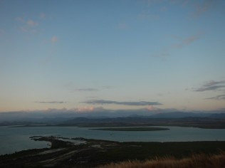 View over Ouano Bay