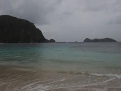 Ned's beach on a rainy day