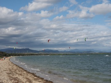 Perfect kiting location