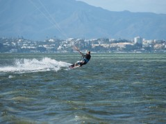 Rob, Noumea in the background