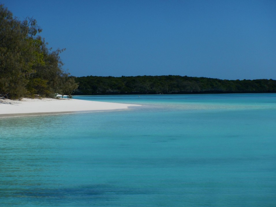 Stunning beaches and bays, North side of Brosse