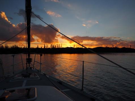 Kanumera sunset