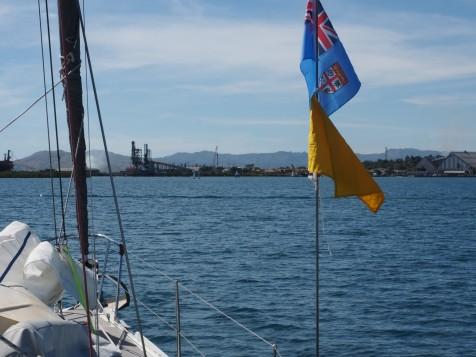 Approaching Lautoka