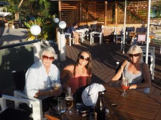 Mom, Lyn and Lanie